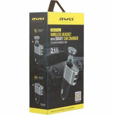 Bluetooth-гарнитура Awei A871BL розовая