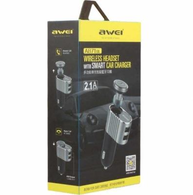 Bluetooth-гарнитура Awei A871BL черная
