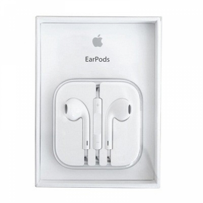 Гарнитура Apple EarPods with Remote and Mic (Original) белые