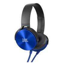Стерео наушники JBL XB-450 синие
