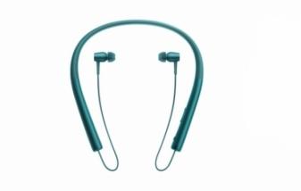 Беспроводные Bluetooth наушники Sony MDR-EX750BT синие