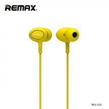 Гарнитура REMAX RM-515 желтая