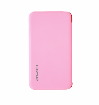 Аккумулятор внешний Awei P10k 6000 mAh розовый