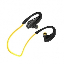 Bluetooth наушники Awei A880BL влагозащищенные черно-желтые