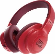 Bluetooth наушники с микрофоном JBL E55BT красные