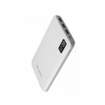 Аккумулятор внешний Awei P56k 30000 mAh с дисплеем белый