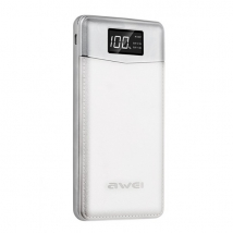 Power Bank Awei P30k 30000 mAh белый