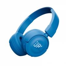 Беспроводные Bluetooth наушники JBL T450BT синие