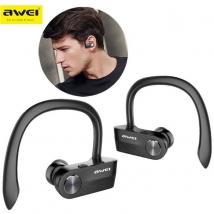 Беспроводные наушники Awei T2 Bluetooth черные