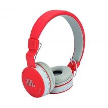 Беспроводные наушники JBL MS-881A Bluetooth красные