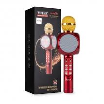 Караоке-микрофон WSTER WS-1816 красный