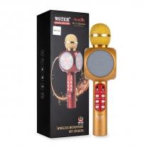 Караоке-микрофон WSTER WS-1816 золотой