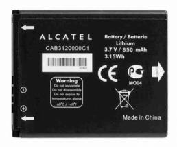 Аккумулятор для Alcatel One Touch 2040D (CAB3120000C1)