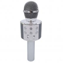 Караоке-микрофон WSTER WS-858 (replica) серебряный