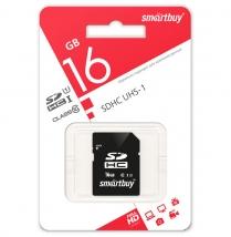 Карта памяти SD 16 Gb Smart Buy