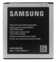 Аккумулятор для Samsung Galaxy Core Prime G360H, Prime VE G361H (EB-BG360CBC, BG360CBE)