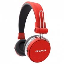 Беспроводные наушники Awei A700BL Bluetooth красные