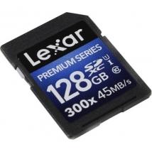 Карта памяти SDXC 128 Gb Lexar 45Mb/s 300x