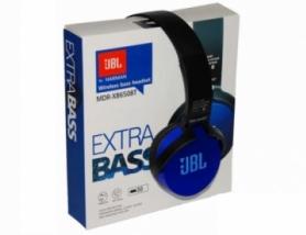 Bluetooth наушники JBL MDR-XB650BT Extra Bass синие