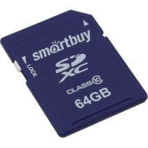 Карта памяти SDXC 64 Gb Smart Buy