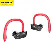 Беспроводные наушники Awei T2 Bluetooth черно-красные