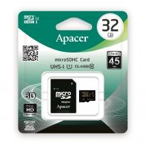 Карта памяти MicroSD 32 Gb Apacer с адаптером SD