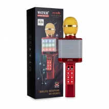 Караоке-микрофон WSTER WS-1828 (original) красный