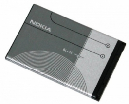 Аккумулятор для Nokia 6100 (Nokia 1006, 1202, 1661, 2112, 2220, 2228, 2650, 2652, 2690, 3108, 3500 Classic, 5100, 6100, 6101, 6102, 6103, 6125, 6300, 6301, 6600, 6670, 7200, 7205, 7270, 7610, 8208, C1-01, C2-05, X2) (BL-4C)