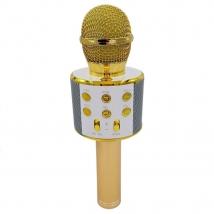 Караоке-микрофон WSTER WS-858 (replica) золотой