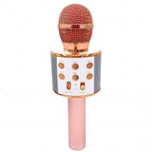 Караоке-микрофон WSTER WS-858 (replica) розово-золотой