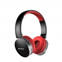 Беспроводные наушники Awei A500BL Bluetooth черно-красные