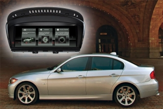Головное устройство для BMW 5, кузов E60 (03-09); BMW 3, кузов E90-E93 (05-09) RedPower 31087 IPS