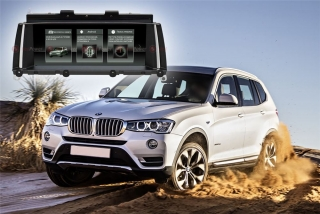 Головное устройство для BMW X3 кузов F25 RedPower 51102 IPS