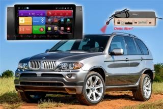 Автомагнитола для BMW X5 (кузов E53) RedPower K 51083 R IPS DSP ANDROID 8+