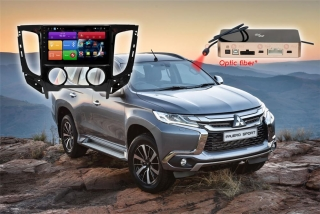 Автомагнитола для Mitsubishi L200, Fiat Fullback (кондиционер) RedPower 51425 R IPS DSP ANDROID 8+