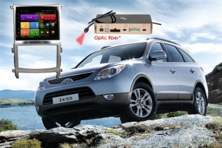 Магнитола для Hyundai IX55 RedPower 51197 IPS DSP Цвет серый ANDROID 8+