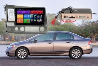 Автомагнитола для Honda Civic RedPower 51024 R IPS DSP ANDROID 8+
