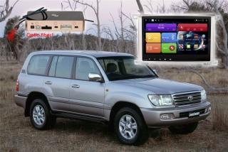 Головное устройство для Toyota LC100, Lexus LX470 RedPower 51383 IPS (комплектации со штатной навигацией)