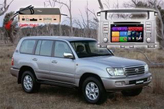 Магнитола для Toyota, Lexus RedPower 51183 IPS DSP c DVD-приводом ANDROID 8+