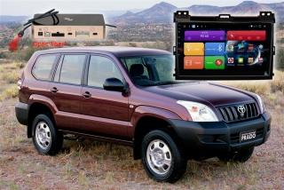 Автомагнитола для Toyota Land Cruiser Prado 120 RedPower 51182 R IPS DSP ANDROID 8+