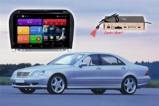 Магнитола Mercedes Benz S RedPower 31350 IPS DSP ANDROID 7