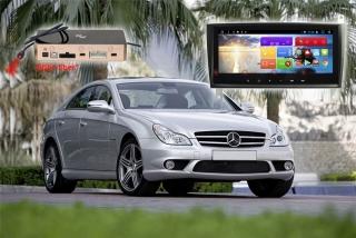Магнитола для Mercedes CLK-класс W209 и G-класс W463 RedPower 51368 IPS DSP ANDROID 8+