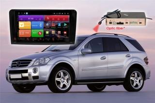 Автомагнитола для Mercedes Benz ML GL RedPower K 51168 R IPS DSP (глянцевая рамка) ANDROID 8+