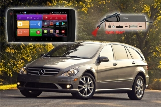 Автомагнитола для Mercedes Benz (R) RedPower K 51169 R IPS DSP (глянцевая рамка) ANDROID 8+