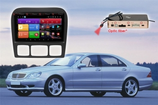 Автомагнитола для Mercedes Benz S-класс RedPower K 51350 R IPS DSP ANDROID 8+