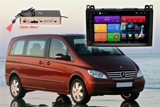 Автомагнитола для Mercedes Vito, Viano, Volkswagen Crafter RedPower 51068 R IPS DSP ANDROID 8+