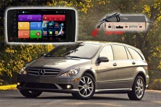 Автомагнитола для Mercedes Benz (R) RedPower 51169 R IPS DSP (глянцевая рамка) ANDROID 8+