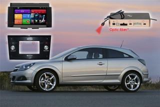 Магнитола для Opel Astra H RedPower 51219 IPS DSP Цвет черный ANDROID 8+