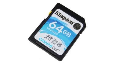 Карта памяти SDXC 64 Gb Kingston Canvas 80Mb/s