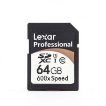 Карта памяти SDXC 64 Gb LEXAR